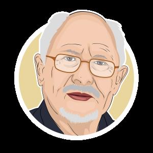 Njål Steinsland circle portrait